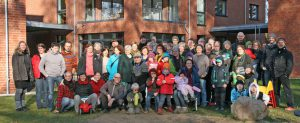 Die LeNa-Gruppe nach dem Einzug Anfang 2016