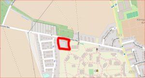 LeNa - die Lage des Grundstücks im Westen der Stadt Lüneburg im Brockwinkler Weg 72
