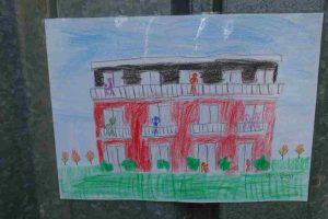 Belas Zeichnung von LeNa-Haus