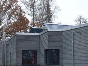 Staffelgeschoss mit Solarthermiemodulen