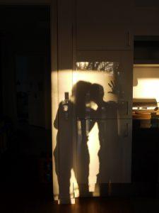 Schattenspiele im Morgenlicht