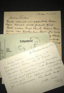 Feldpostbriefe von Onkel Fritz
