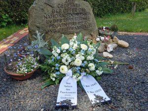 Gedenkstein für die Opfer der Euthanasie in der Lüneburger Psychiatrischen Anstalt