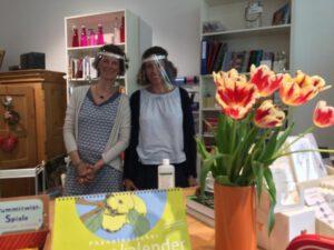 Mitarbeiterinnen der Lamberti-Buchhandlung Lüneburg